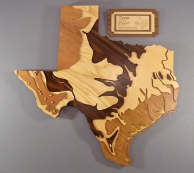 state-map-in-wood
